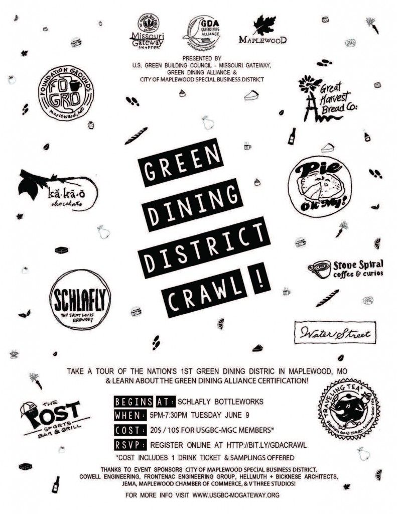 Green Dining Crawl - June 9