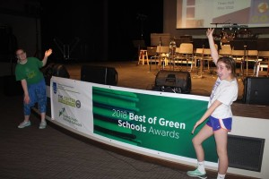 MRH MS Students Best of Green Schools