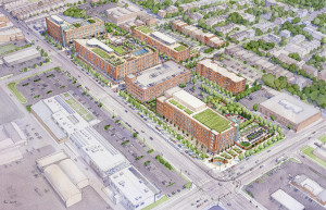 Lafayette Square North Development Aerial - low res