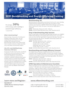 2020.01.10 Benchmarking Training Flyer
